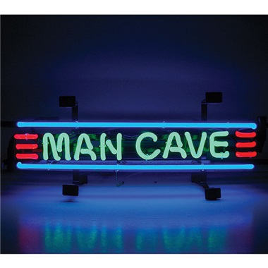 Man Cave Red, Green & Blue Neon Sign