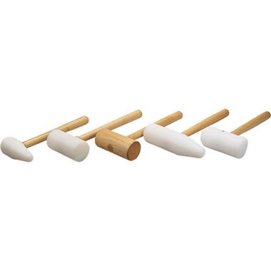 5-Pc Metal-Forming Mallet Set