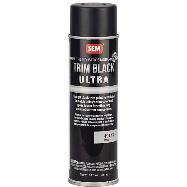 SEM® Trim Black Ultra Satin - 14.5 oz