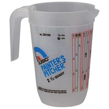 USC® Painters Pitcher - 2-1/2 Qt