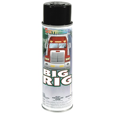 SEYMOUR® Big Rig Gloss Black Frame Paint, 16 oz