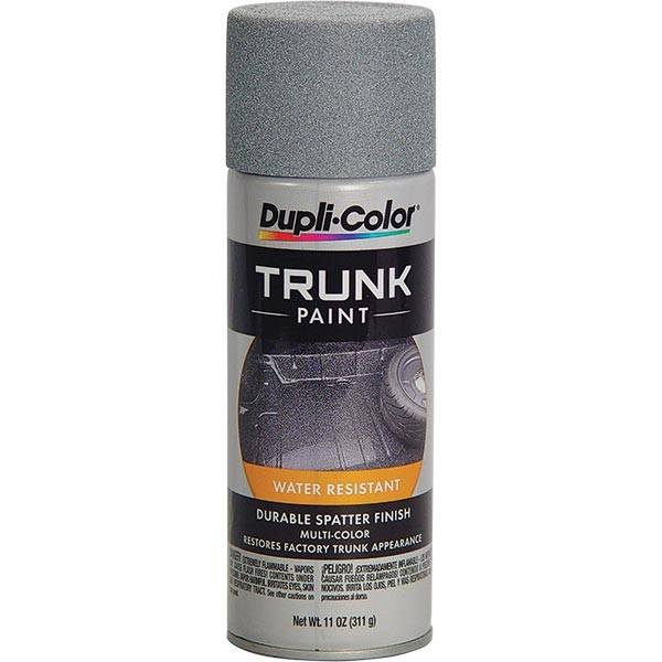 Dupli-Color® Spatter Finish Trunk Paint - Gray & White, 11 oz