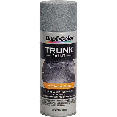 Dupli-Color® Spatter Finish Trunk Paint - Gray & White, 11 oz