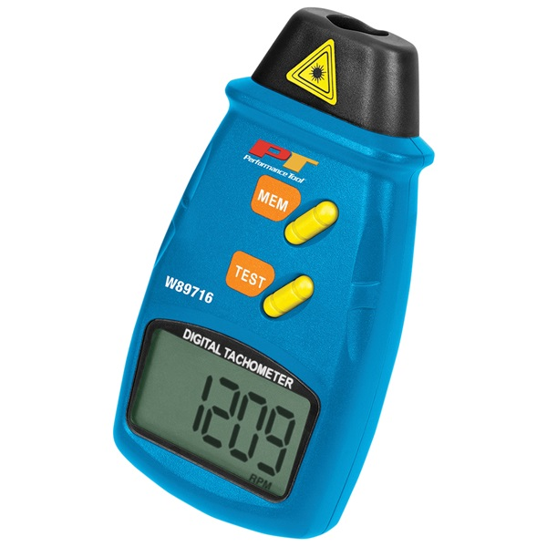 Performance Tool® Digital Laser Tachometer