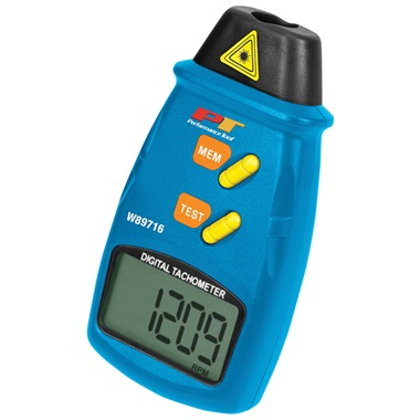 Performance Tool® Digital Laser Tachometer
