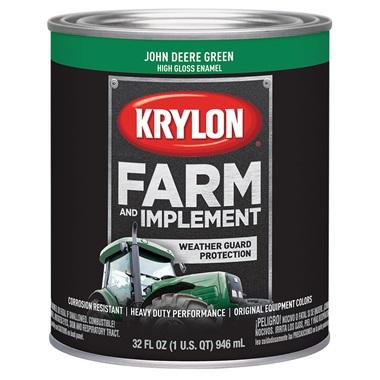 Krylon® Farm & Implement Paint - John Deere Green, Qt