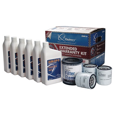 Quincy PL Extended Warranty Kit - 5 & 7.5HP