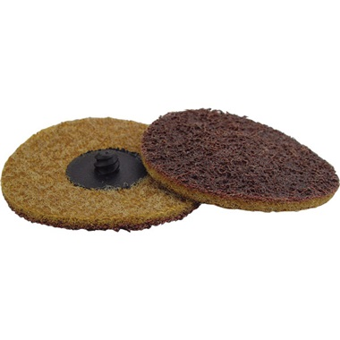 "3"" Quick-Change Surface Conditioning Disc - Coarse, Gold - Ea"