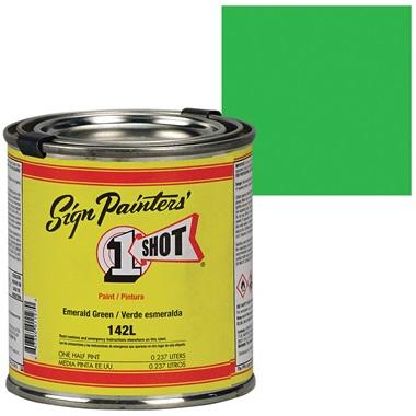 1 Shot® Lettering & Pinstripe Enamel Paint - Emerald Green