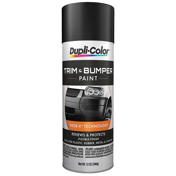 dupli color trim bumper paint satin black 12 oz tp. Black Bedroom Furniture Sets. Home Design Ideas