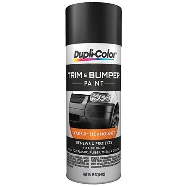 Dupli-Color® Trim & Bumper Paint - Satin Black, 12 oz