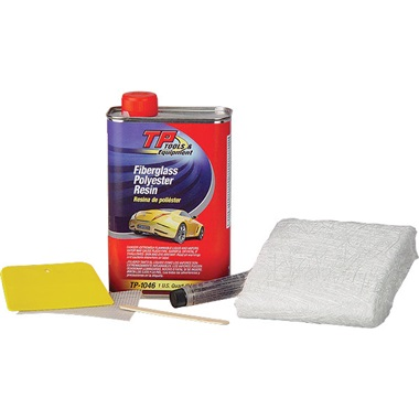 TP Tools® Fiberglass Repair Kit