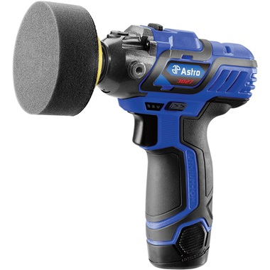 "Astro Pneumatic® 12V 3"" Mini Cordless Pistol Polisher w/2 Batteries"
