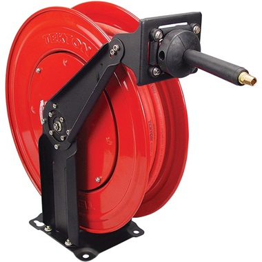 "Tekton® Professional 1/2"" x 50 Ft Air Hose Reel with USA-MADE Hose"