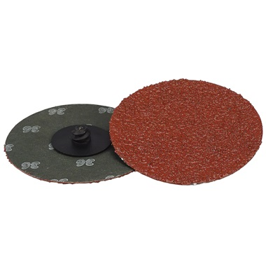 "3"" Quick-Change Sanding Disc - 36 Grit, Ea"