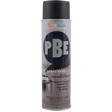 SEYMOUR® PBE Professional Trim Semi-Gloss Black, 15 oz