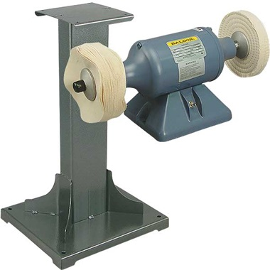 BALDOR® 1/3HP Buffer and 11 Gauge Steel Stand