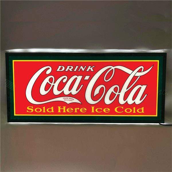 Coca-Cola Slim Line LED Sign