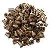 "5/16""-18 Zinc-Plated Steel Rivet Nuts - 100Pk"