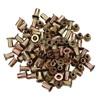 8-32 Zinc-Plated Steel Rivet Nuts - 100Pk