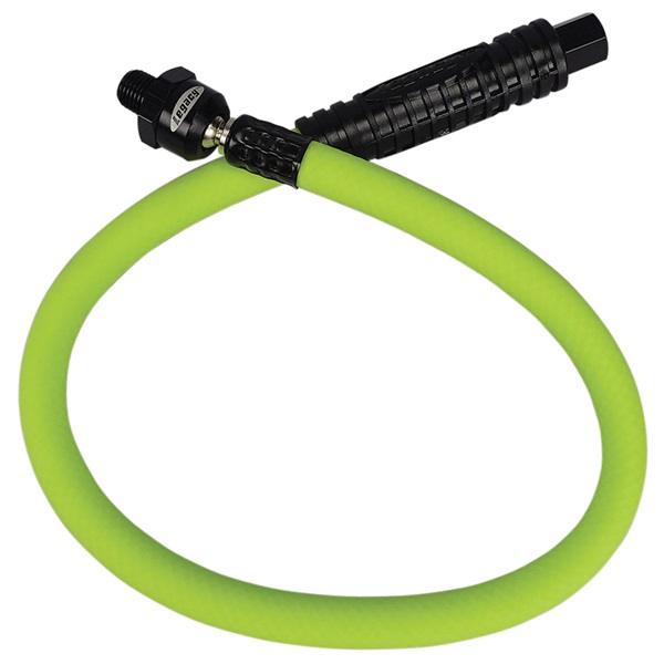 "Flexzilla® 2 Ft, 3/8"" ID Whip Hose with 1/4"" Ends"