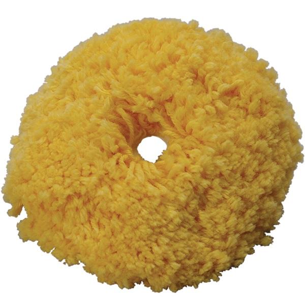 "TP Tools® 6"" Yellow Wool Polishing Pad"