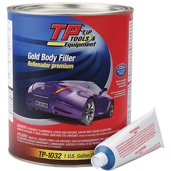 TP Tools® Gold Body Filler, Gallon