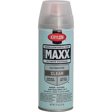 Krylon® Crystal Clear Gloss Enamel, 11 oz