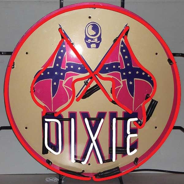 Dixie Gas Neon Sign