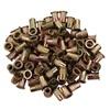 M8 x 1.25 Zinc-Plated Steel Rivet Nuts - 100Pk