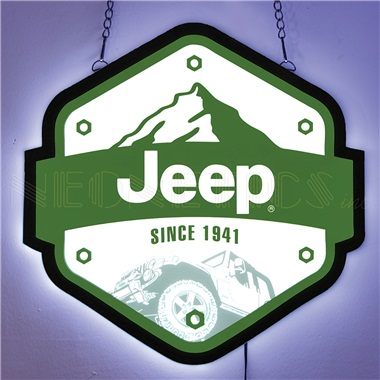 Jeep Slim Line LED Sign