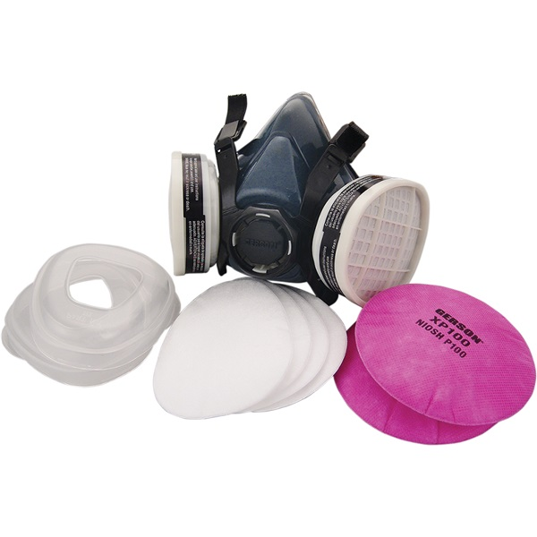 Gerson® Signature ProSeries Paint/Body Combo Respirator, Lrg