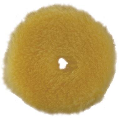 "RUPES® BigFoot® 4"" Yellow Medium Wool Polishing Pad"