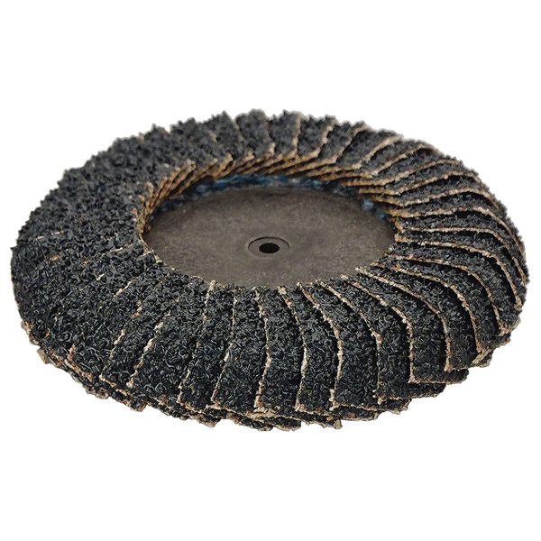 "3"" Core Curved Quick-Change Flap Disc"