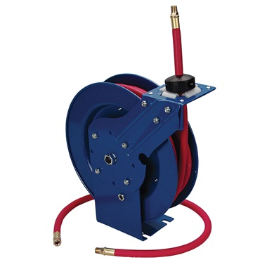 "3/8"" x 25 Ft Retractable Air Hose Reel with Hose"