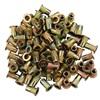 M5 x 0.8 Zinc-Plated Steel Rivet Nuts - 100Pk