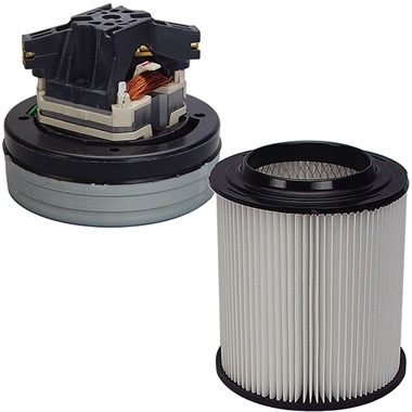 Vacuum Motor & HEPA Filter Cartridge Kit