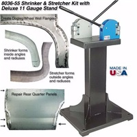 Shrinker and Stretcher Kit with Deluxe 11 Gauge Welded Stand