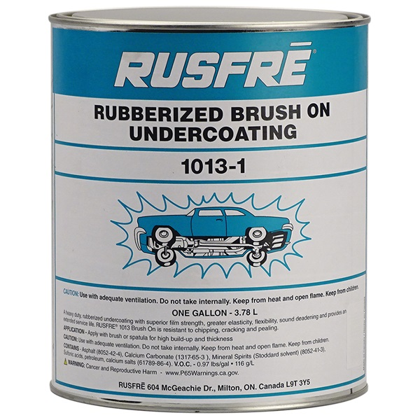 RUSFRE Black Rubberized Brush-On Undercoating