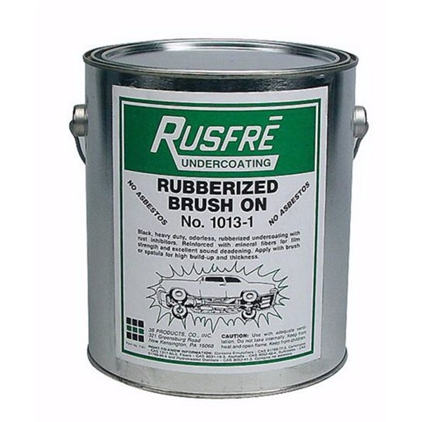 Rusfre Black Rubberized Brush On Undercoating Tp Tools
