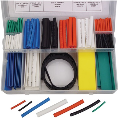 171-Pc Heat Shrink Tube Kit