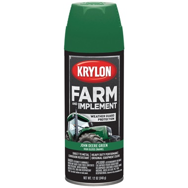 Krylon® Farm & Implement Paint - John Deere Green, 12 oz