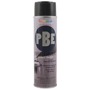 SEYMOUR® PBE Professional Trim Gloss Black, 15 oz