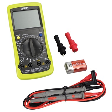 Deluxe Digital Automotive Multimeter