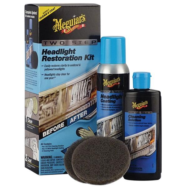 Meguiar's® Two Step Headlight Restoration Kit