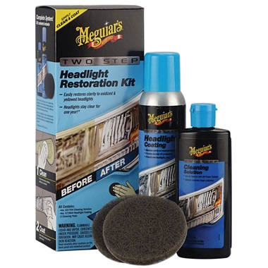 Meguiar's® Two Step Headlight Restoration Kit