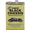 Bill Hirsch Semi-Gloss Super Black Chassis Undercarriage Paint, Gal