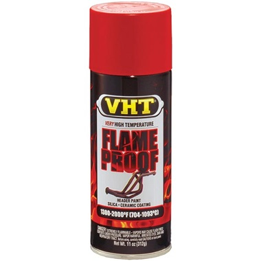 VHT® Flameproof™ High-Temp Paint - Flat Red, 11 oz