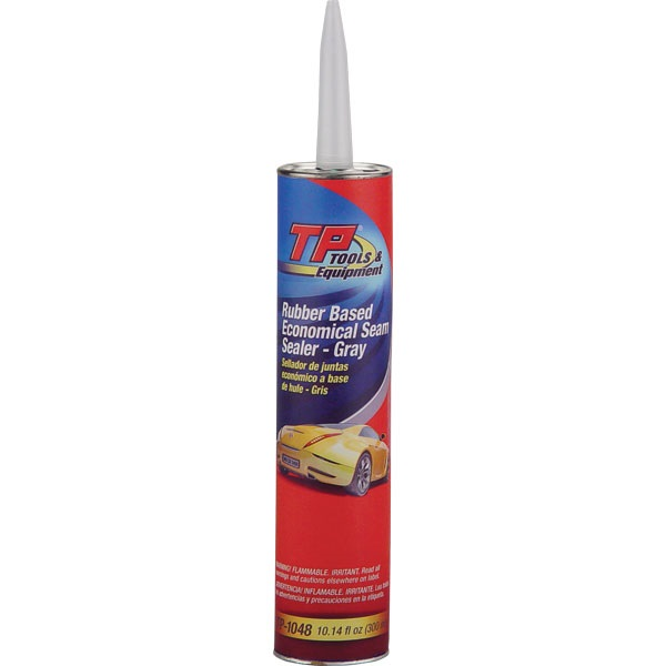 TP Tools® Auto Body Seam Sealer - Gray, 10.14 oz Tube