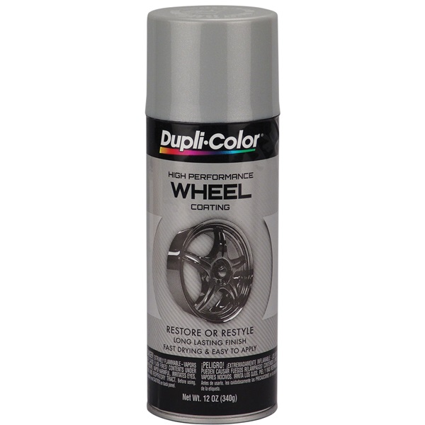 Dupli-Color® Wheel Paint - Silver, 12 oz